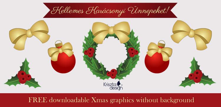 Xmas freebie: karácsonyi letölthető grafikák