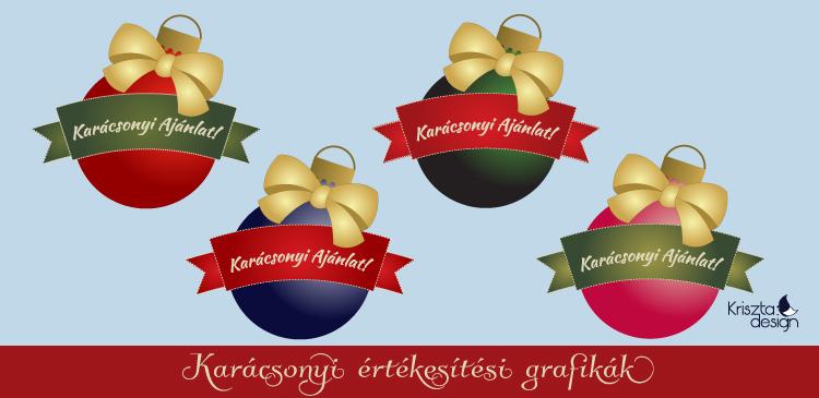 Xmas freebie: Karácsonyi értékesítési grafikák
