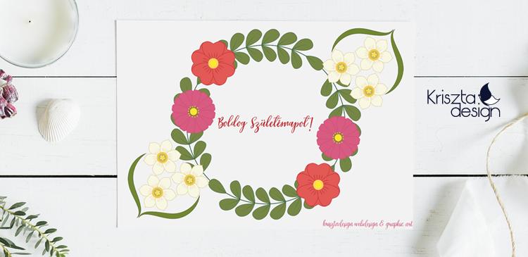 Virágok és álmok színező – Kövesd az álmaidat!
